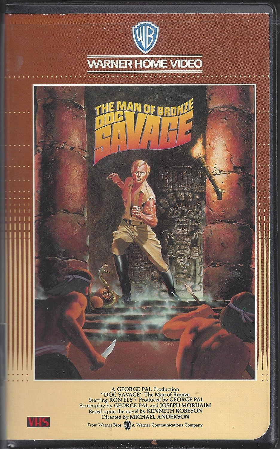 Doc Savage - Der Mann aus Bronze [Alemania] [VHS]: Amazon.es ...