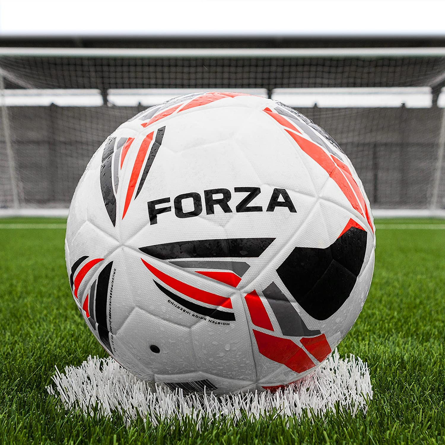 Forza Pro一致Fusionサッカーボール[ 2018 ] [ Net世界スポーツ] B075DGR6QT Size 4|Pack Of 3 Pack Of 3 Size 4
