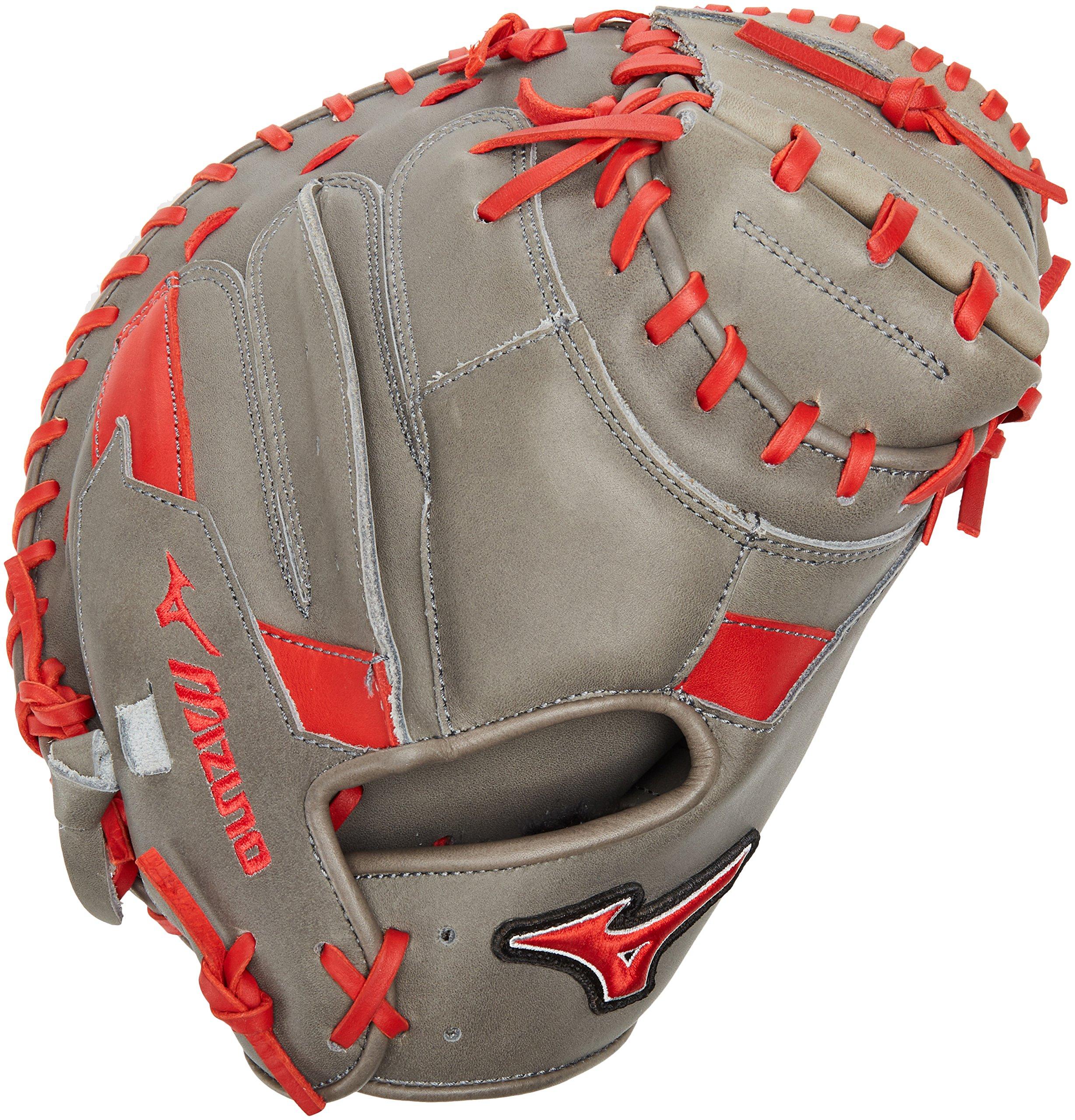 Mizuno MVP Prime Special Edition 34'' Catchers Mitt - GXC50PSE5, Smoke-Red, 34 INCHES (3400) by Mizuno