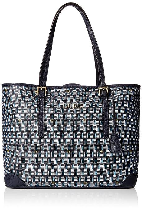 Guess HWJSETP6204, Bolso de Mano para Mujer, (BLM), 10 cm: Amazon.es: Zapatos y complementos