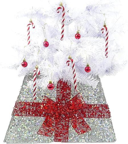 Christmas Concepts® Falda Base de Navidad con Cinta - Varios ...