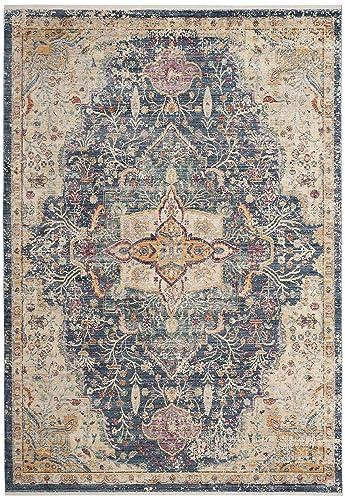 Safavieh Illusion Collection ILL707H Blue and Purple Area Rug 6 x 9