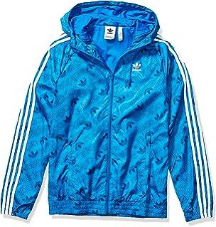 adidas originals blauer boyfriend kapuzenpullover