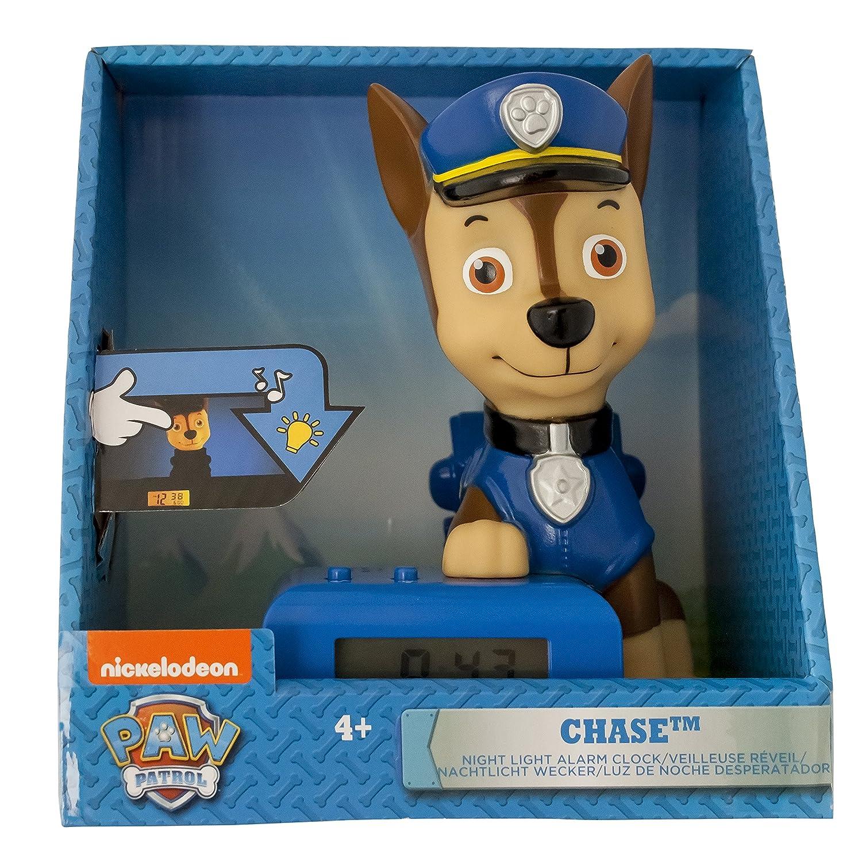 BulbBotz Paw Patrol 2021302 Despertador con sonido caracterizado
