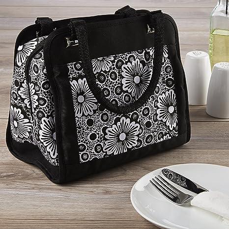 312e4f2cea88 Amazon.com: Fit & Fresh Ashland Lunch Bag Kit with Reusable ...