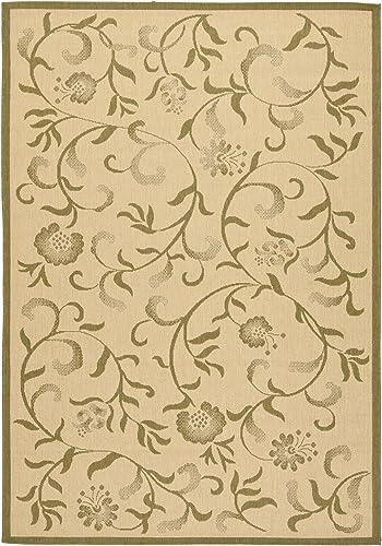 Safavieh Martha Stewart Collection MSR4251 Swirling Garden Indoor/ Outdoor Area Rug
