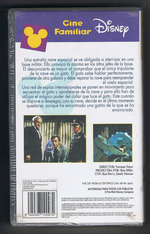 El gato que vino del espacio videoc.f. [VHS]: Amazon.es: Cine ...