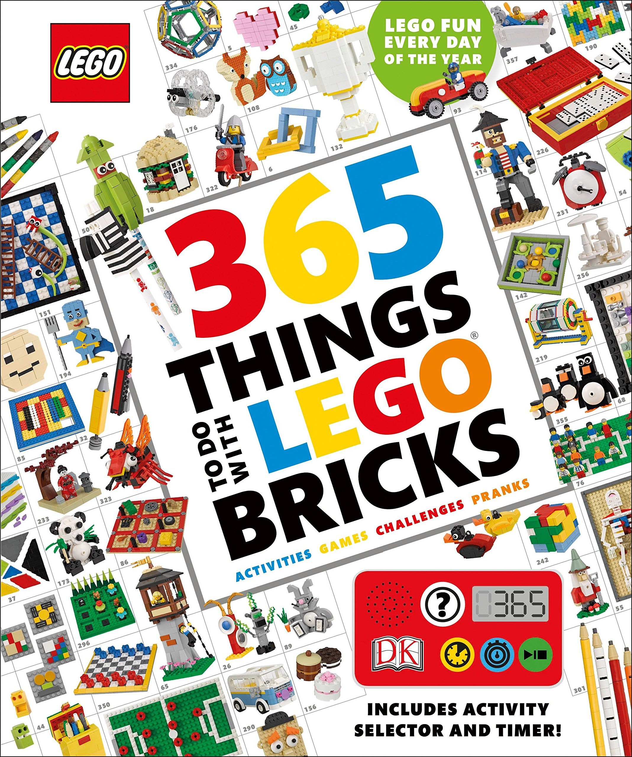 365 Things to Do with LEGO Bricks: Lego Fun Every Day of the Year by DK Publishing Dorling Kindersley (Image #7)