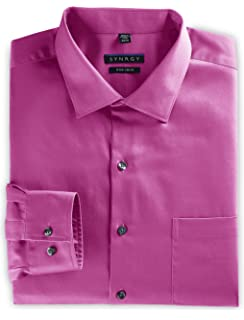 05a76b3fcd5 Synrgy by DXL Big and Tall Sateen Dress Shirt at Amazon Men s ...