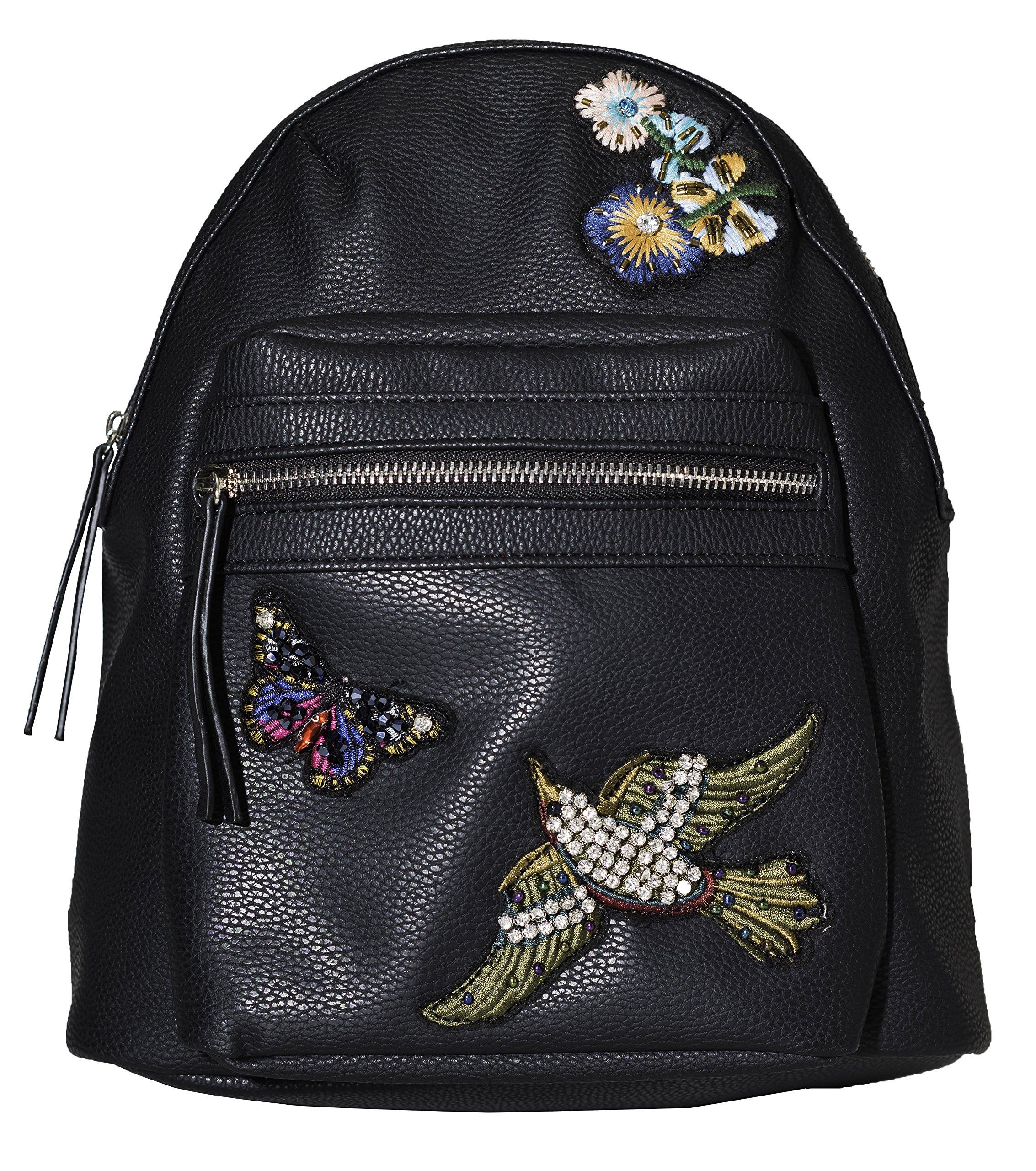 Girls' Long Sleeve Embellished Top & Bottom Set, 2-6X, 7-14 (One Size, Backpack)