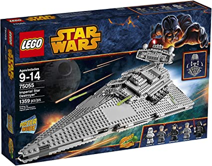 Amazon Com Lego Star Wars 75055 Imperial Star Destroyer Building Toy Discontinued By Manufacturer Toys Games