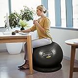 Exercise Ball Chair - 55cm / 65cm / 75cm Yoga