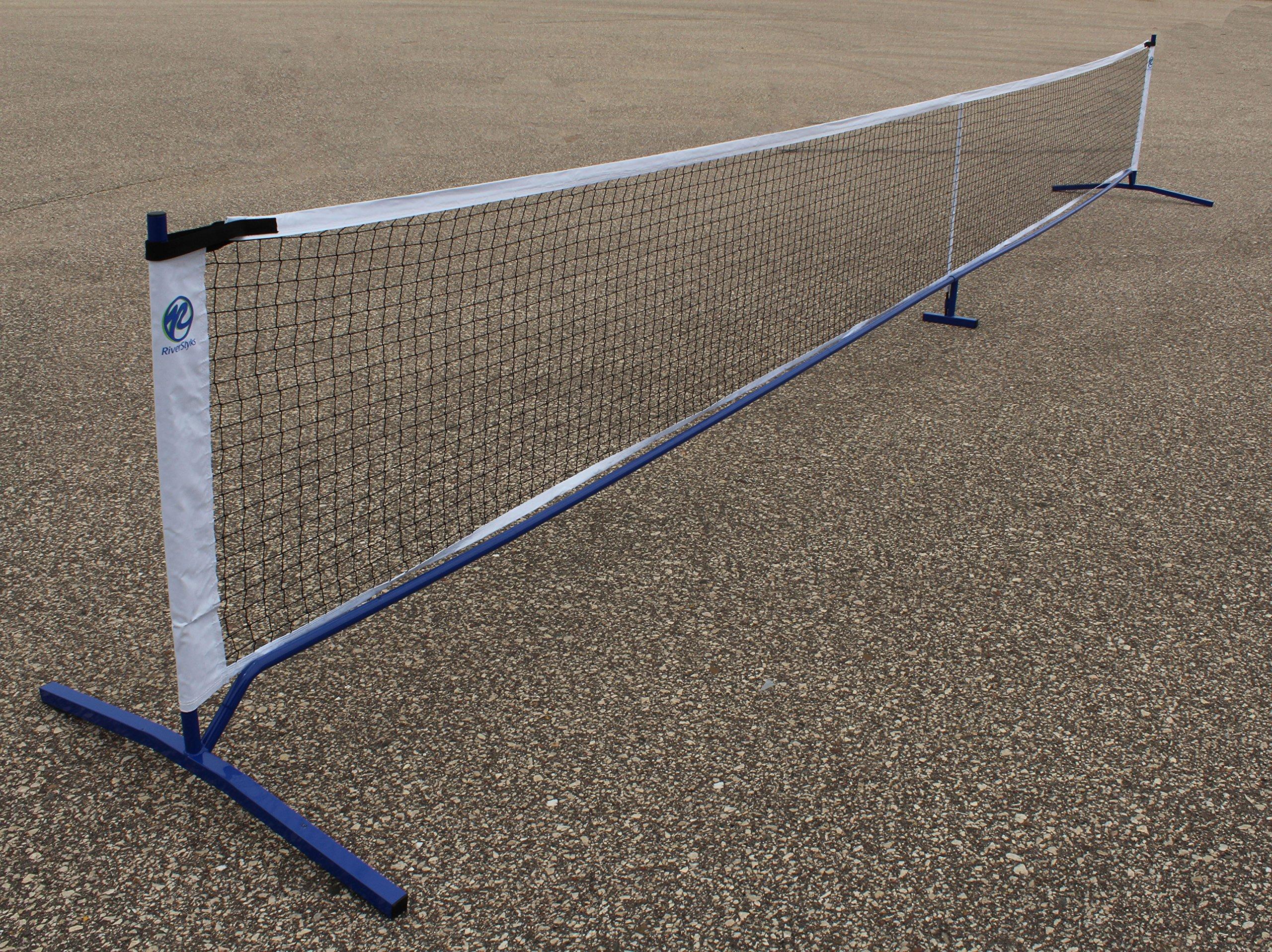 Pickleball Complete Net System by RiverStyks, LLC