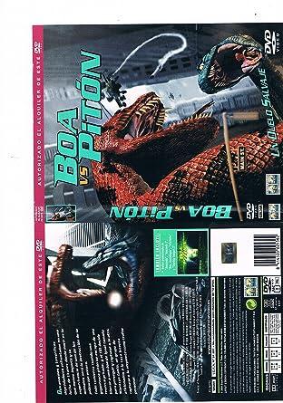Boa Vs Piton [DVD]