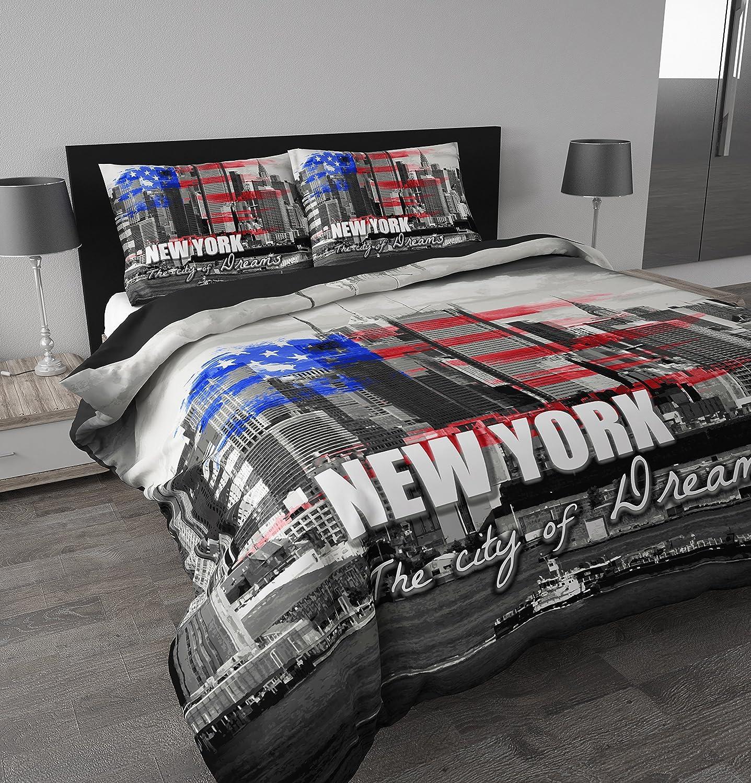 Housse De Couette 2 Personnes New York