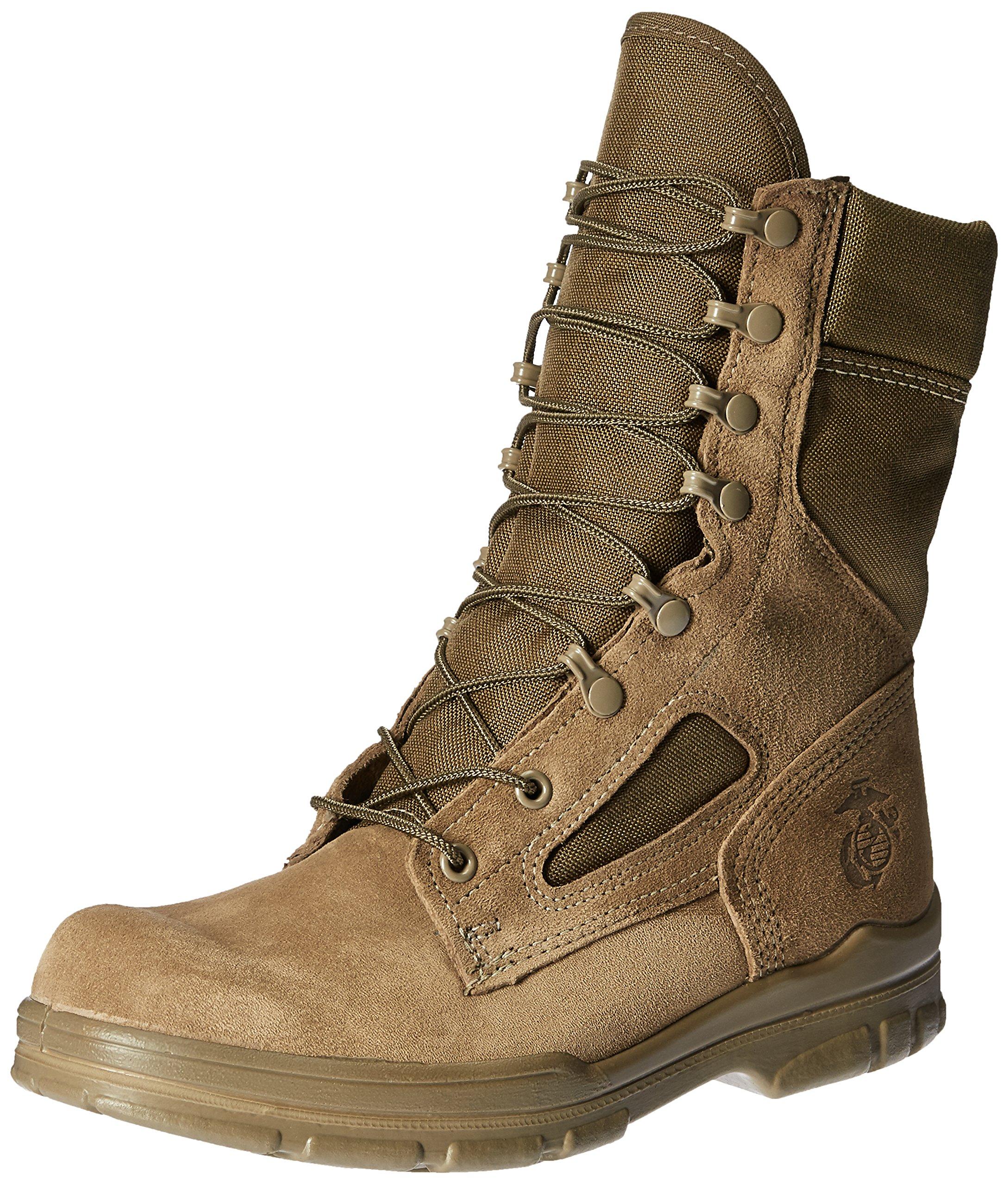 Bates Men's USMC Lightweight DuraShocks Military & Tactical Boot, Olive Mojave, 9.5 M US by Bates