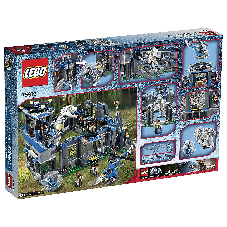 Captivating Amazon.com: LEGO Jurassic World Indominus Rex Breakout 75919 Building Kit:  Toys U0026 Games