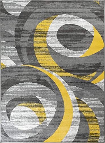 Rugs and Decor Metro 1003 6X9 area rugs, 6 x 9 , Yellow