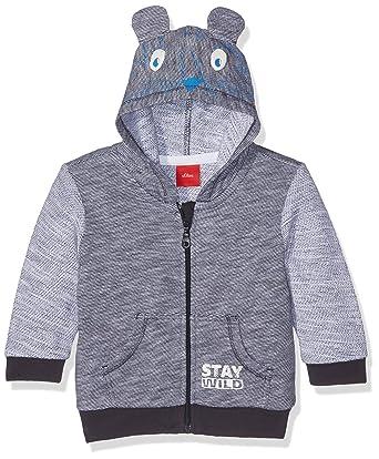 63cb9673b7 s.Oliver Baby-Jungen Jacke Sweatshirt, Blau (Dark Blue Melange 58W4), 62:  Amazon.de: Bekleidung