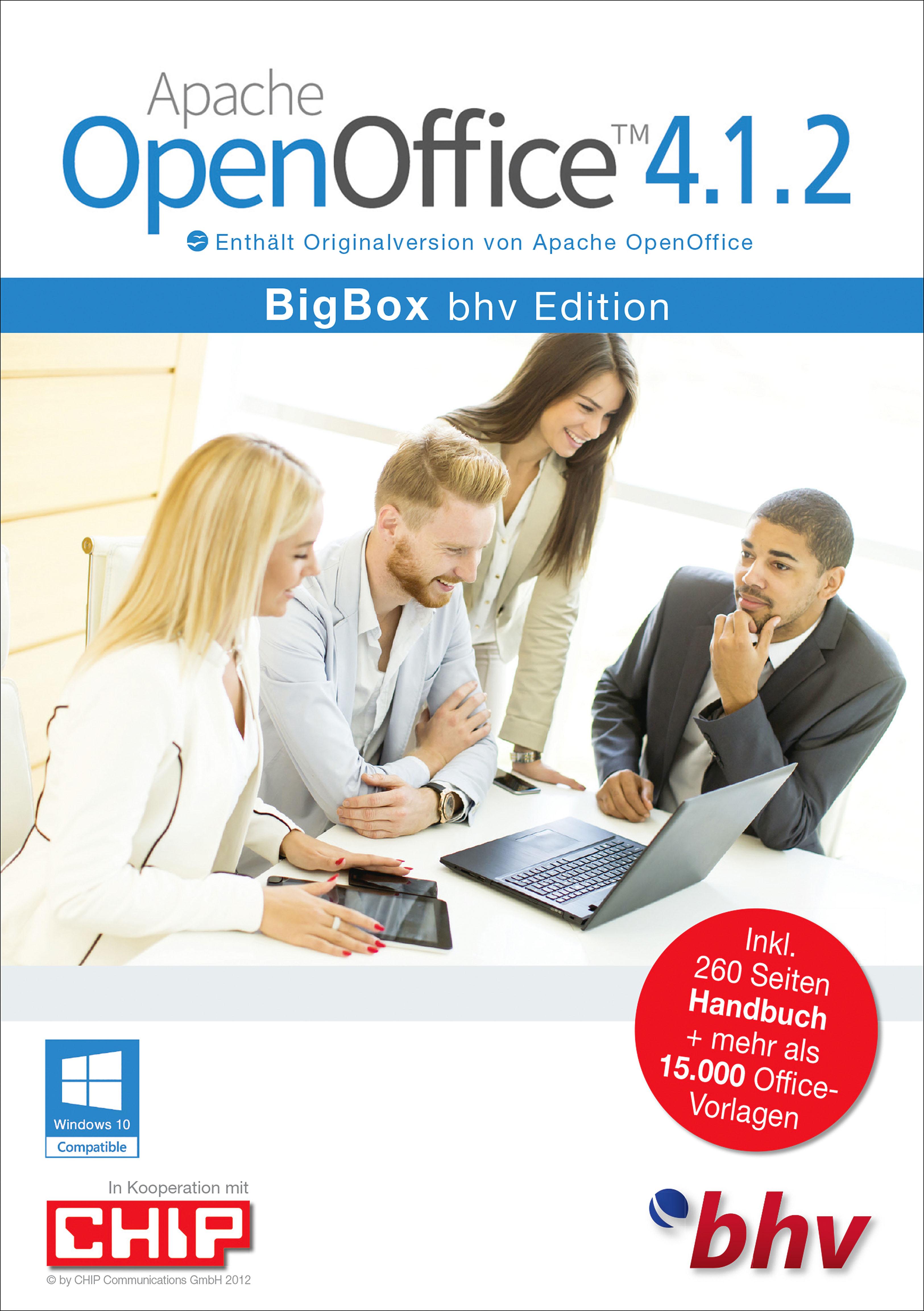 Apache Openoffice 4 1 2 Bigbox Edition Download Amazon
