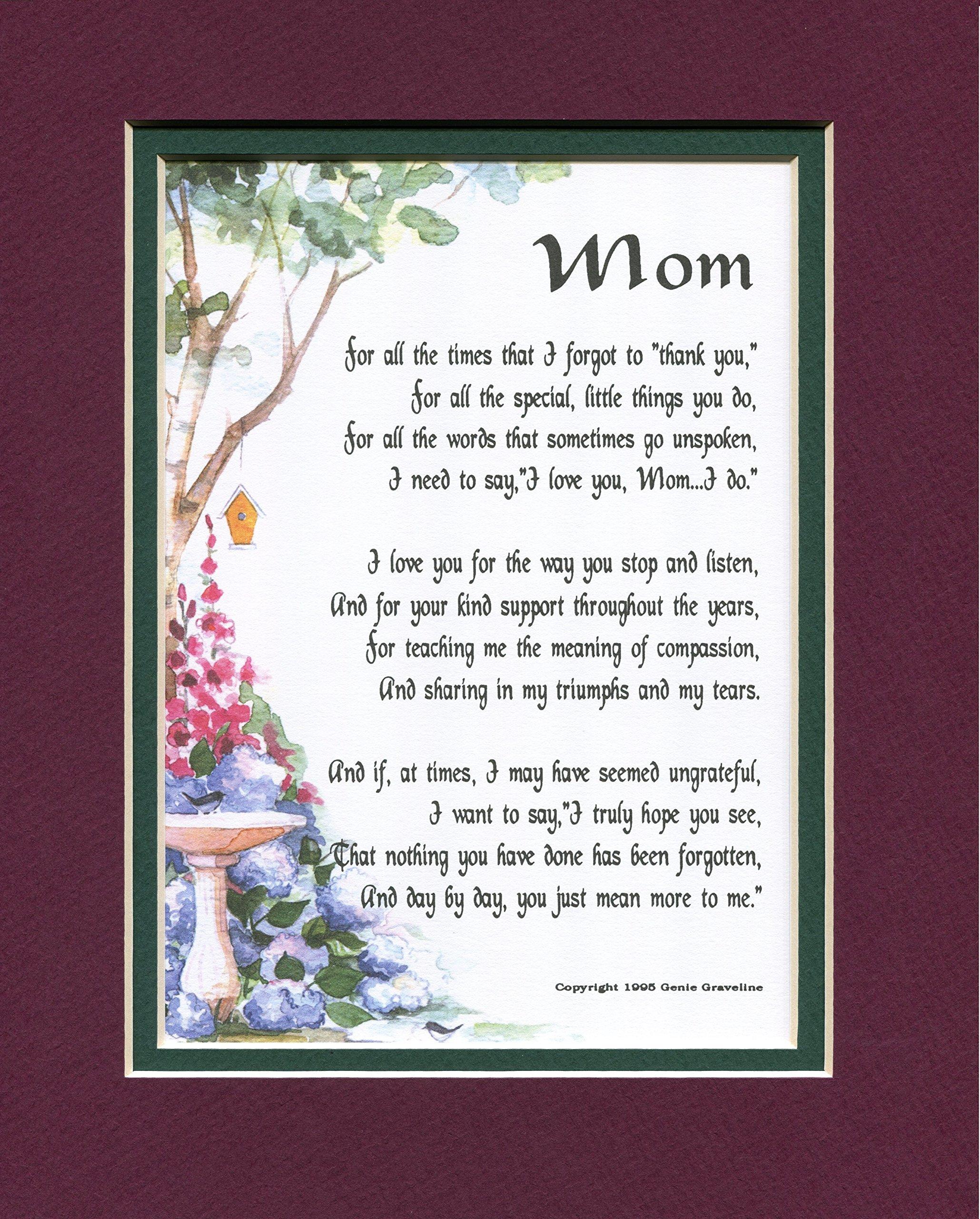 Amazon.com : A Poem Gift 60th 70th 80th Birthday Present