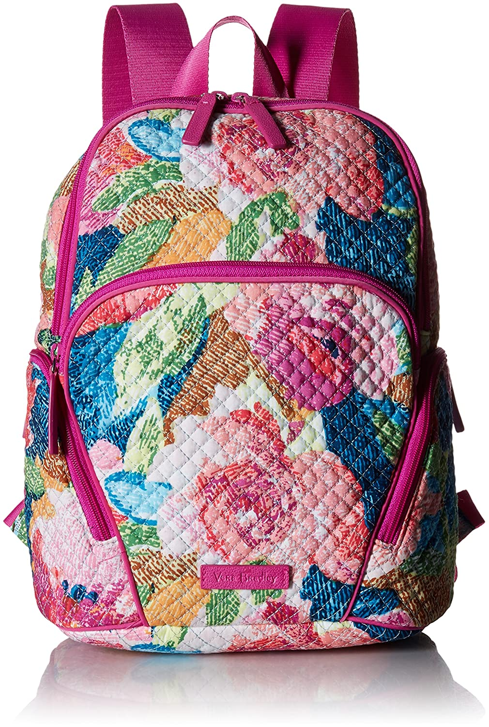 8722d9d245d Amazon.com  Vera Bradley Hadley Backpack, Signature Cotton, Superbloom   Clothing