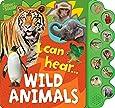10 Button Super Sound Books I Can Hear Wild Animals