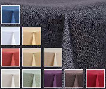 Deko-Home24 Nappe pour table de jardin Imitation tissu Déperlant ...