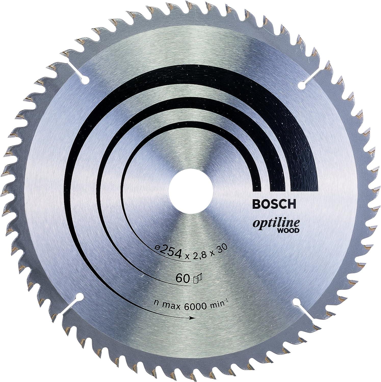 Bosch 2 608 640 444 - Hoja de sierra circular Optiline Wood - 254 ...