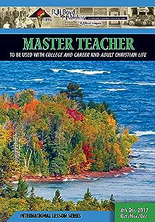 Master teacher 2nd quarter 2016 sunday school kindle edition by master teacher 4th quarter 2017 sunday school fandeluxe Choice Image