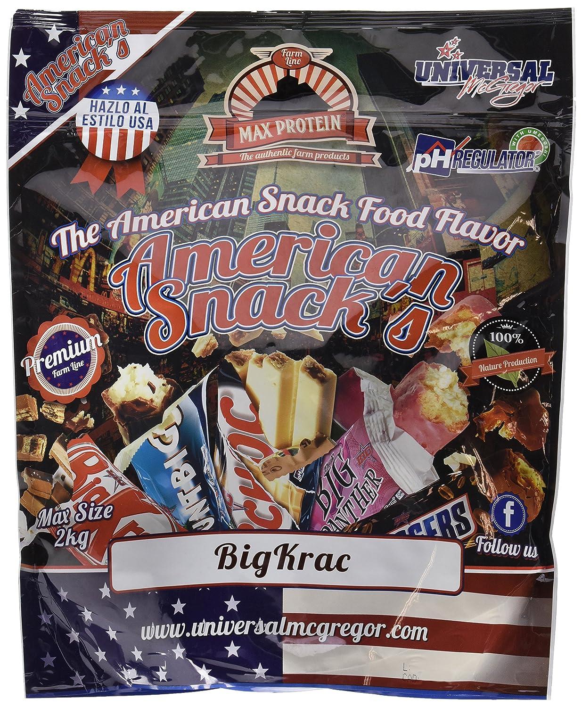 Max Protein American Snacks Harina de Avena - 2000 gr: Amazon.es ...