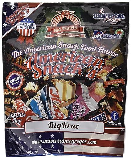 Max Protein American Snacks Harina de Avena - 2000 gr