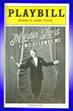 Martin Short Fame Becomes Me, Broadway playbill