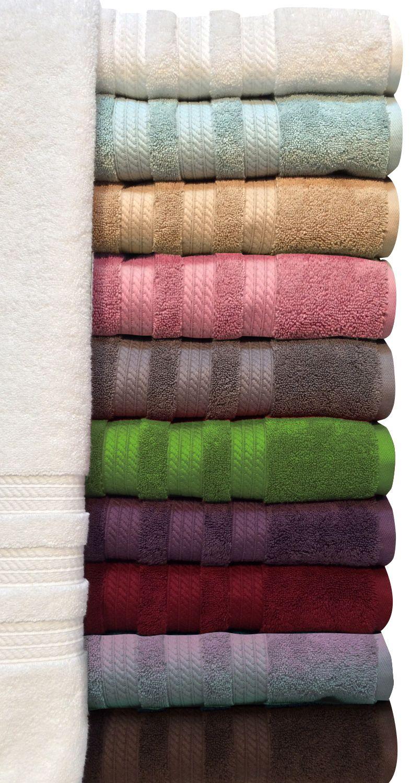 "100% Cotton Luxury Bath Towel 30"" x 58"" (Assorted Colors) - Sam's Club"