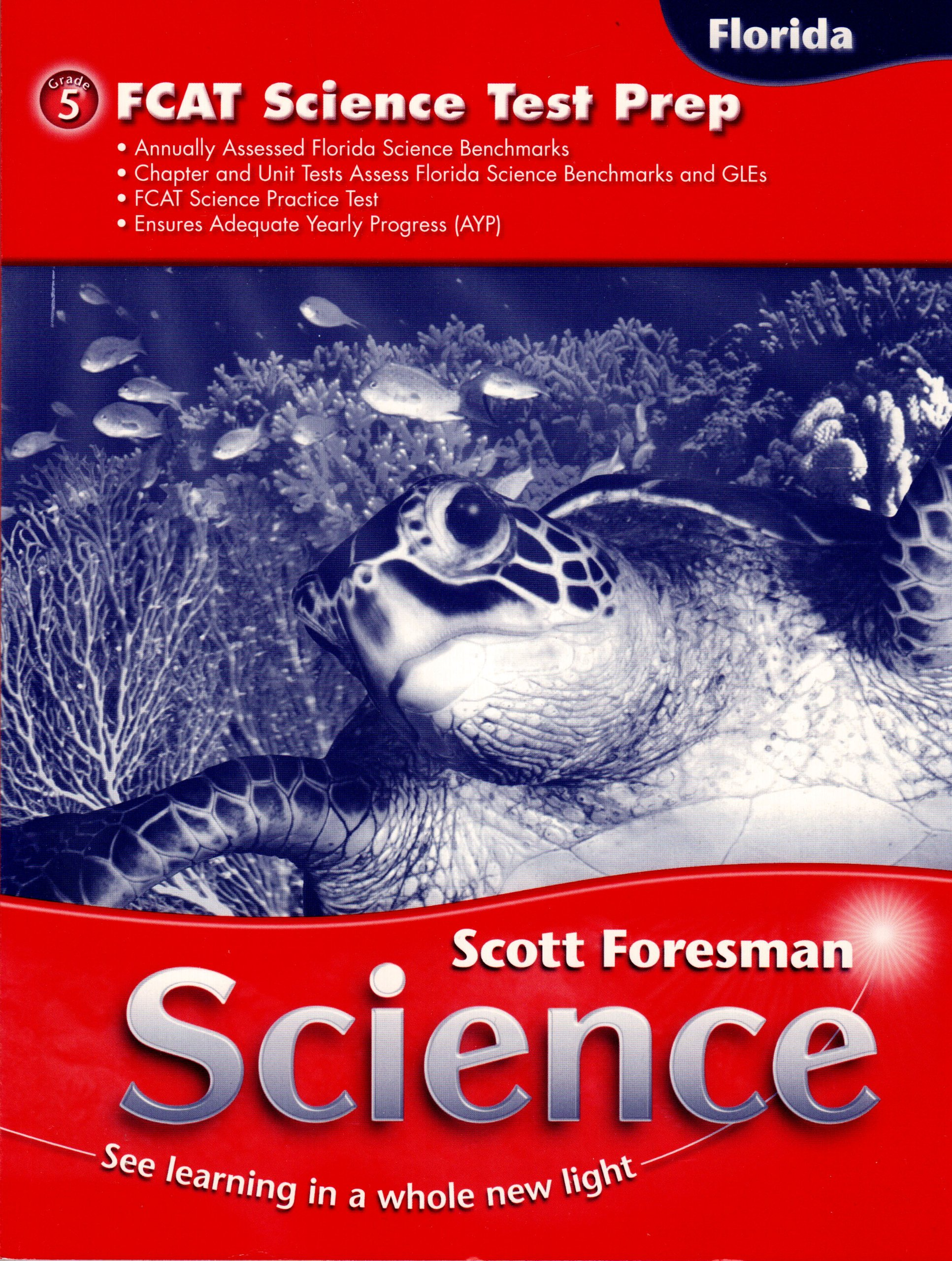 Fcat Science Test Prep 5th Grade Scott Foresman 9780328177462