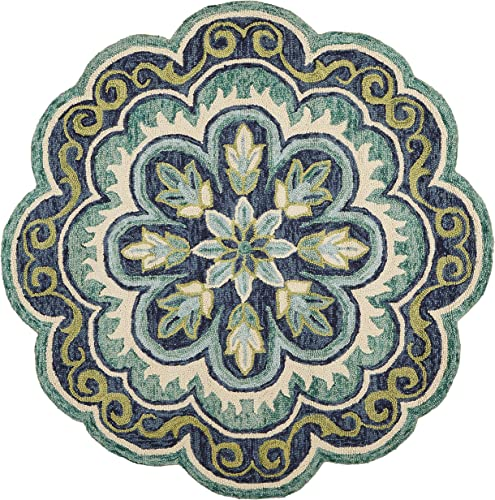 LR Home Dazzle Area Rug