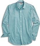 Goodthreads Amazon Brand Men's Standard-Fit Long-Sleeve Gingham Plaid Poplin Shirt