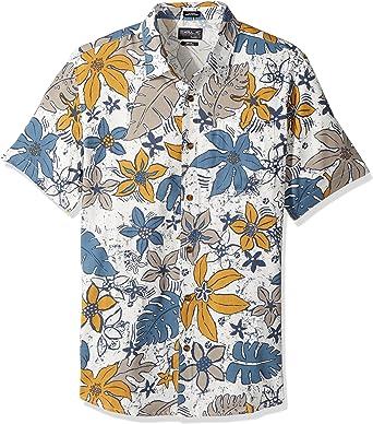 ONeill Hombre FA7104307 Floral Camisa de Vestir - Blanco - XX-Large: Amazon.es: Ropa y accesorios