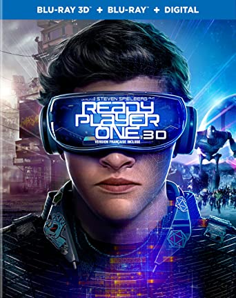 Ready Player One Blu Ray 3d Blu Ray Digital Hd Ready Player One Ready Player One Movies Tv
