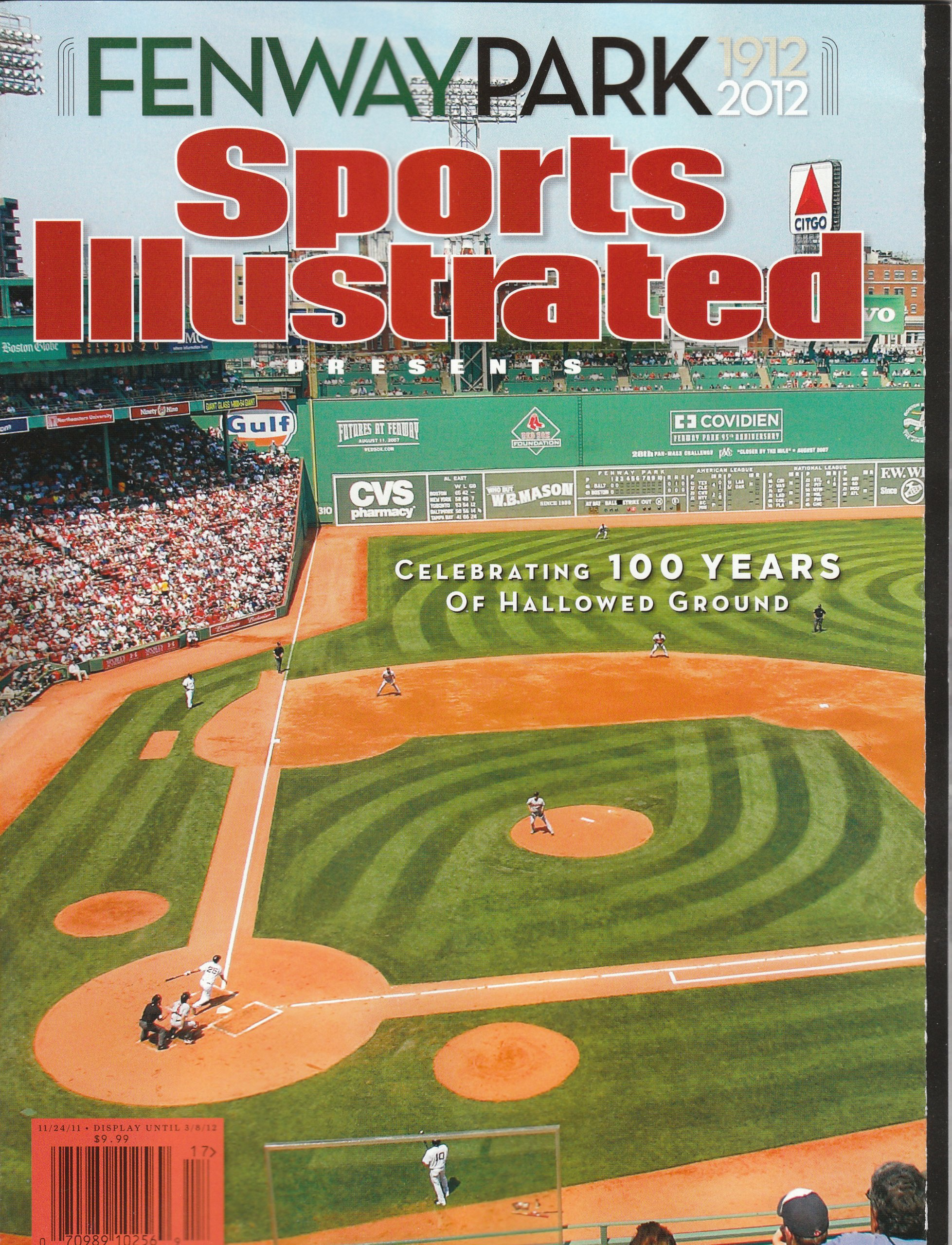 Download Fenway Park 100th Anniversary Sports Illustrated Commemorative Magazine 1912-2012 Boston Red Sox New, No mailing label! pdf