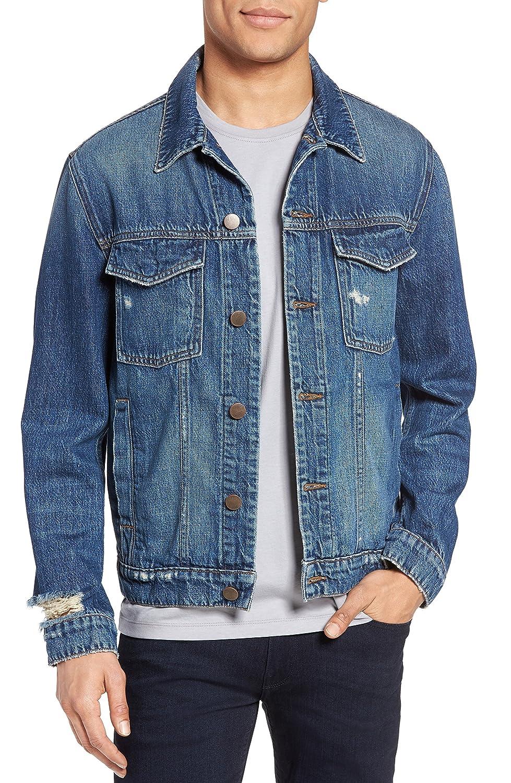 ジェイブランド メンズ ジャケットブルゾン J Brand Gorn Denim Jacket [並行輸入品] B07C8G8JS4  Medium