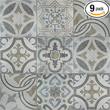 Somertile Grey Brown Blue Fem13ldm Lema Ceramic Floor And Wall