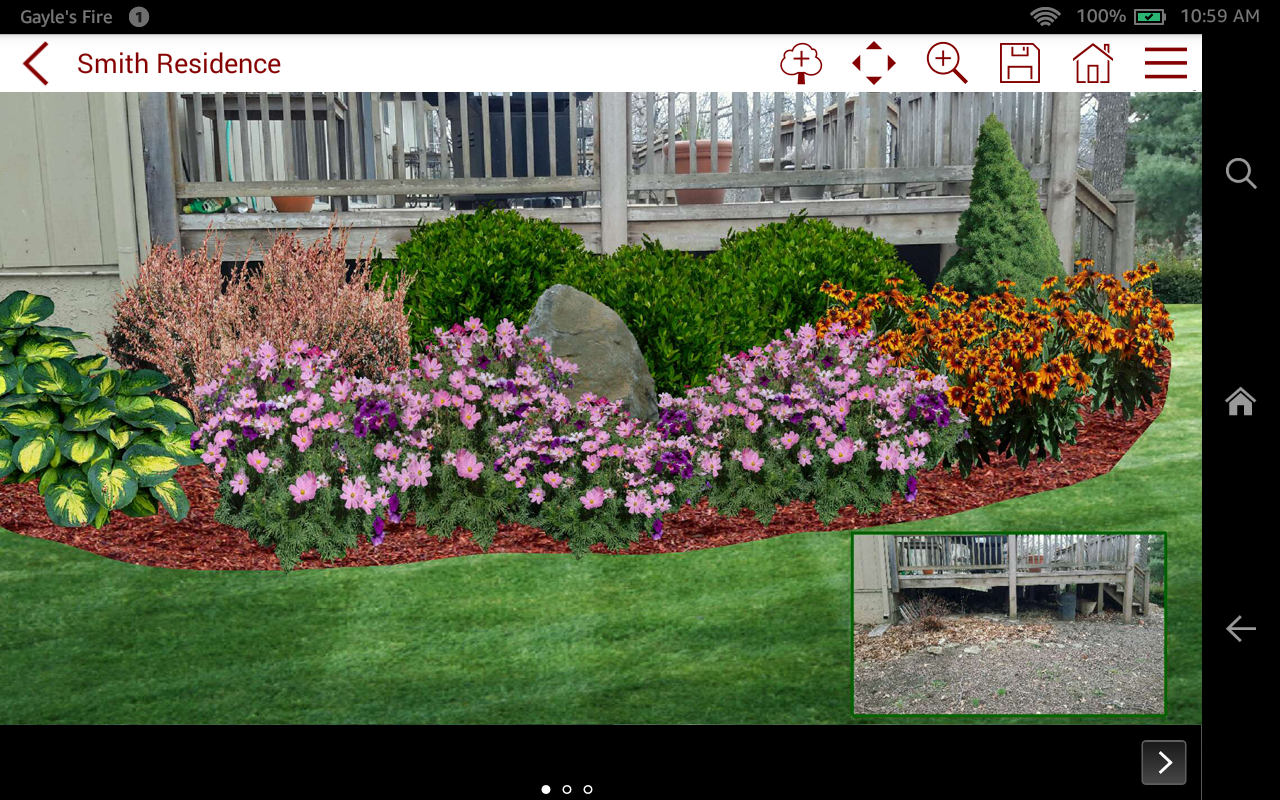Pro landscape home appstore for android for Forest garden design zone 4