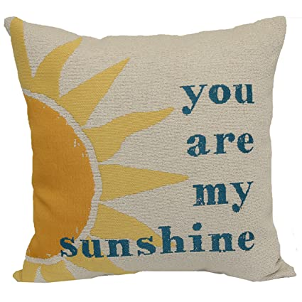Amazon Brentwood Originals 40 You Are My Sunshine Enchanting You Are My Sunshine Decorative Pillow