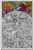 Wildergorn Posters à Colorier - Les Poisson-tempete de Sool - affiche à colorier GEANTE 68cm x 96cm