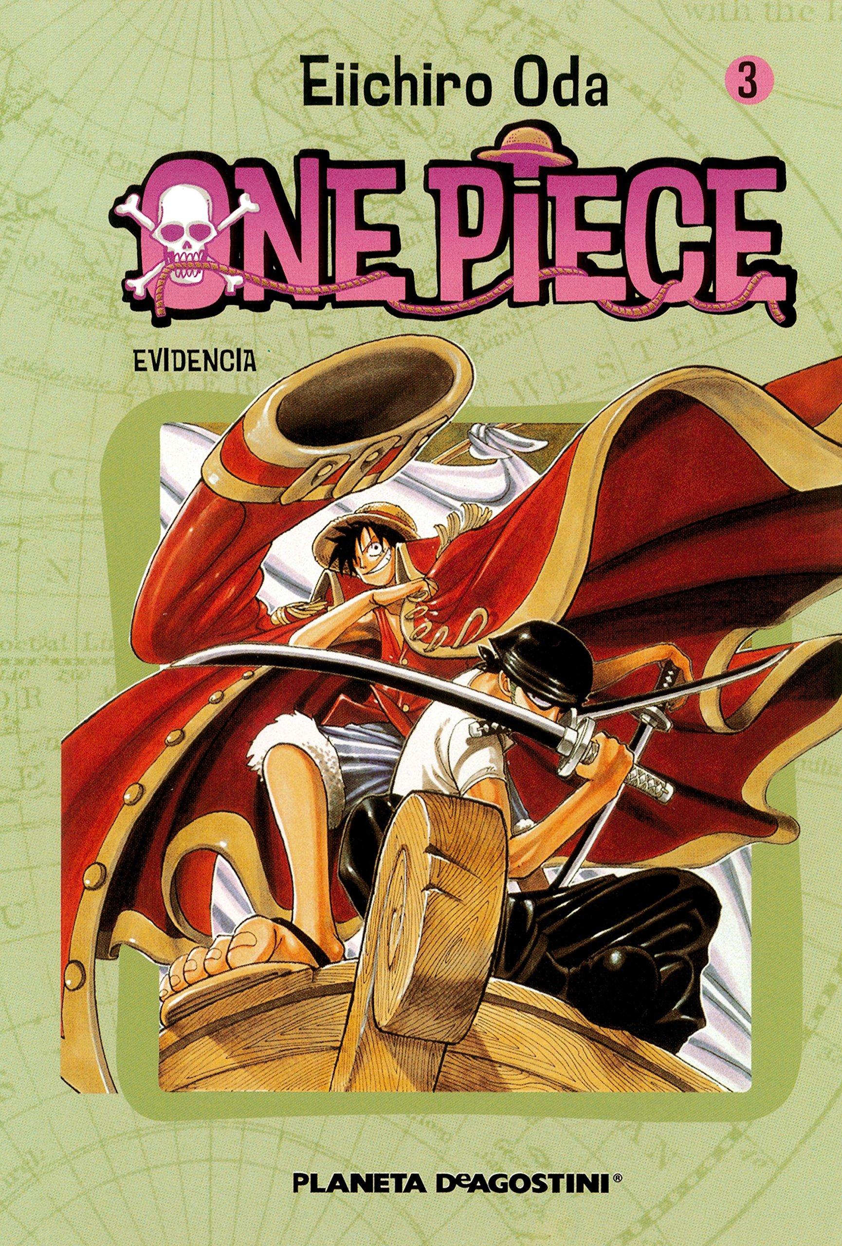 One Piece nº 03: Difícil de engañar Tapa blanda – 31 dic 2004 Eiichiro Oda Planeta DeAgostini Cómics 8468471542 Graphic novels: Manga