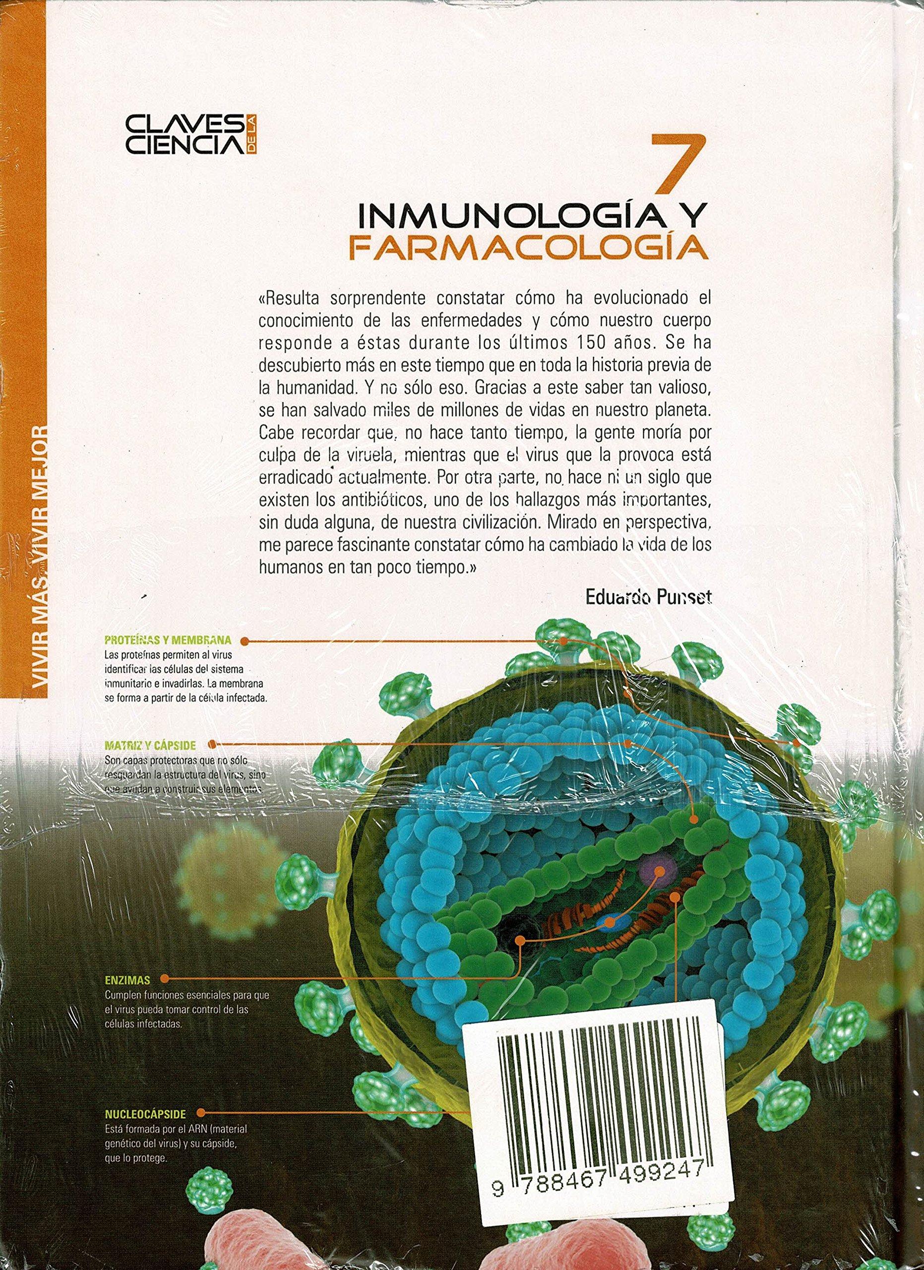 Inmunología Y Farmacología: Amazon.es: Eduardo Punset: Libros