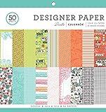 "ColorBok 75387 Designer Paper Pad Doodle, 12"" x 12"""