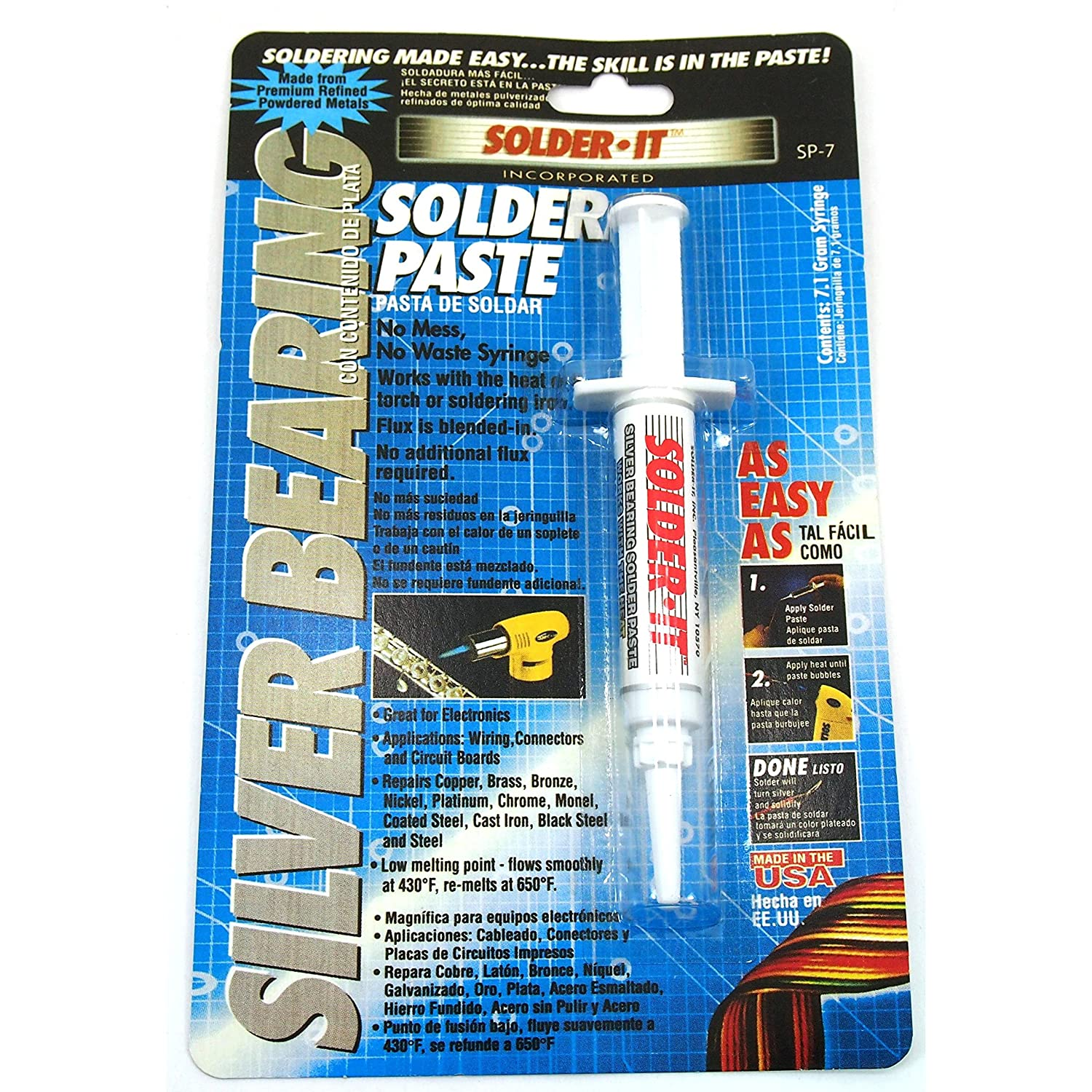 Silver & Copper Bearing Soldering Solder Paste Metals Jewelry Repair Kit 2 Pcs - Jewelry Making Supplies - Amazon.com