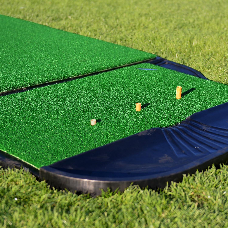 net driving hitting turf cage s mats pgm indoor practice x range trainning golf mat nylon durapro